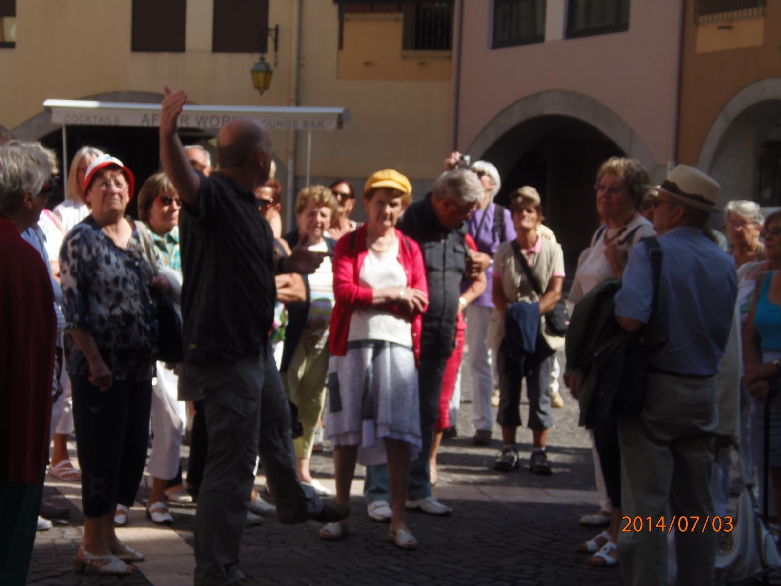 Une journée à Annecy