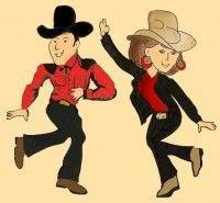 Reprise de la danse country