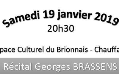 Récital Georges BRASSENS
