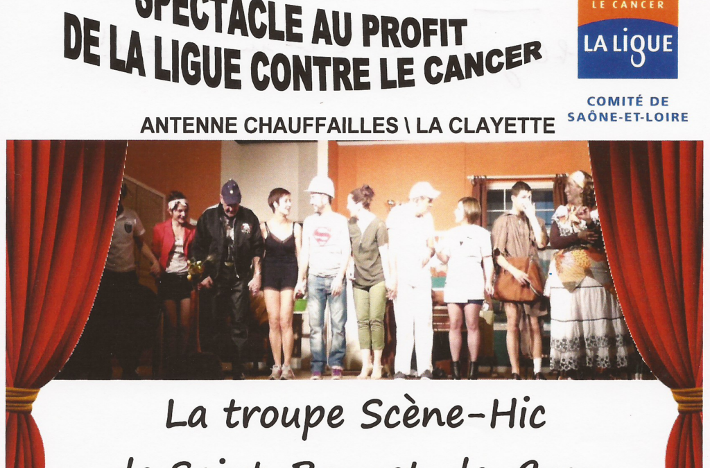 Spectacle au profit de la ligue contre le cancer