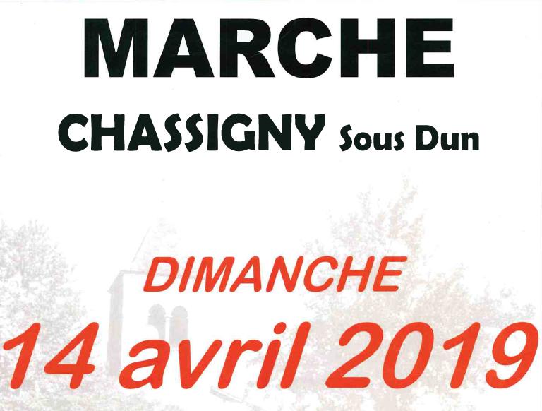 Marche à Chassigny