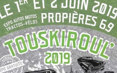 TOUSKIROUL' à Propières le 1 et 2 juin 2019