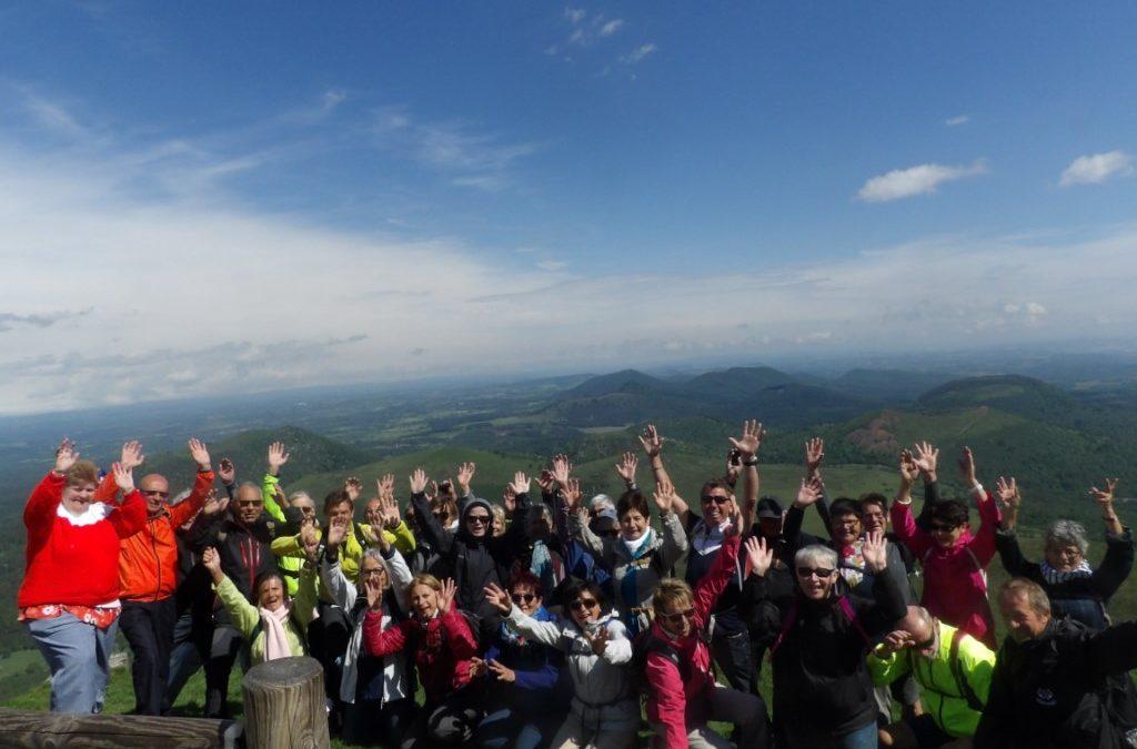 Séjour en Auvergne « Domaine des Puys » à ST SAUVES   du 3 au 7 juin 2019